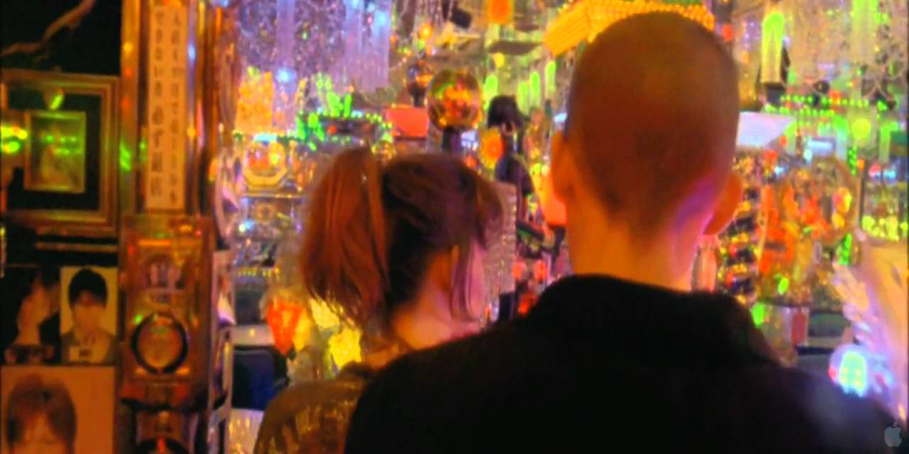 A scene from Enter the void