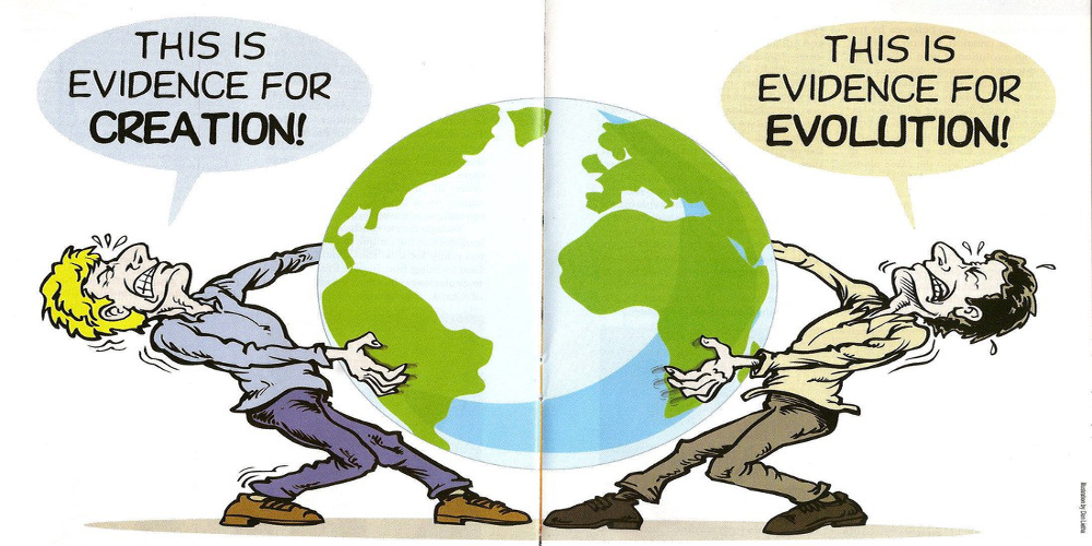 Evolutionism vs creationism